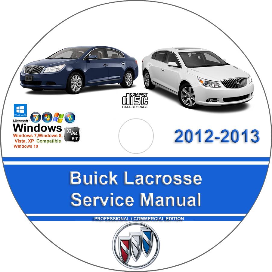 Buick Verano 2012 2013 2014 2015 2016 Service Repair Manual on CD